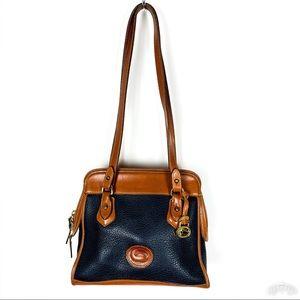 Vintage Dooney & Bourke Pebbled Leather Bag